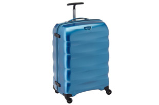 Samsonite Engenero Spinner in hellblau